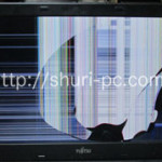 FMVNP3FEの液晶割れ、画面交換を格安に行っております!