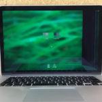 MacbookPro 画面に線