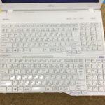富士通 AH53/Uのキーボード交換、水没