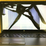 浦安市のパソコン修理 HP ProBook450の画面割れ