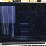 千葉県柏市のパソコン修理 MacbookProRetinaの液晶割れ