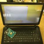 ハードディスク交換 東芝PBB15PB-SPAが起動しない