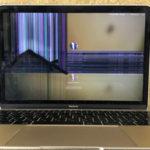 柏市十余二よりMacBookの修理でご来店!