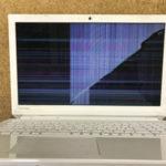 桐生市のパソコン修理 東芝 PT45AWS-SJA3 画面故障