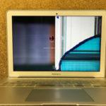 MacBook Airのモニター修理 画面割れの費用について