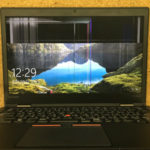 ThinkPad X1 Carbon 4G 画面割れの修理