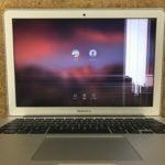 高崎からMacBook Airの修理 画面割れ