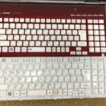 NEC LL750/Dのキーボード交換 キーが反応しない