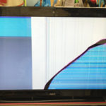 PC-LS350RSR 画面割れ