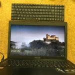 ASUS X55U キーボードが効かない 修理、交換