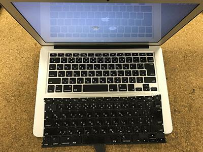MacBook Air キーボードが効かない