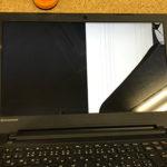 Lenovo ideapad 300-15IBR 液晶画面割れ パソコン修理