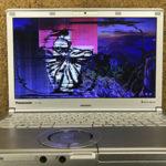 ユーカリが丘からのパソコン修理 CF-SX2 液晶割れ