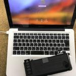 八千代市よりMacBook Pro 2010年式のバッテリー交換依頼