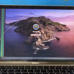 成田からMacBook Air A1932の画面割れ修理
