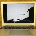 木更津市からMacBook Airの画面割れで持ち込み修理