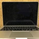 神奈川県川崎市よりMacBook Proの画面割れ修理依頼