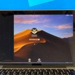 戸田市からのパソコン修理 MacBook Proの液晶割れ