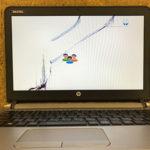 船橋市 HP ProBook 650 G4の画面割れ修理依頼