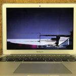 市川市 MacBook Airの画面割れ修理依頼