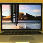 江東区からMacBook Pro A1398の画面割れ修理依頼