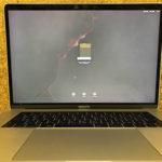 佐倉市からMacBook Pro 15 タッチバーモデルの修理依頼