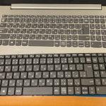 lenovo ideapad 320のキーボード交換 【水没修理】