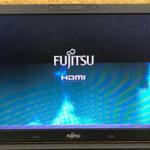 千葉県成田市のパソコン修理 富士通 A577/Rの画面故障