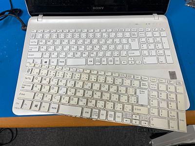 SVF153B1GN キーボード交換
