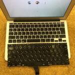 MacBook Air 11インチのキーボード交換 修理・買取