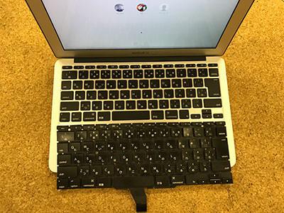 MacBook Air 11 キーボード交換