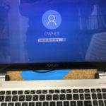 Asusのキーボード連打は部品交換が必要です!