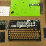 X202Eのキーボードが効かない、打てない、反応しない場合の修理