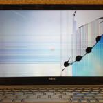 NECのノートパソコン液晶交換を格安に行います!