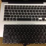 MacBookProの「キー」が打てない、押せない場合
