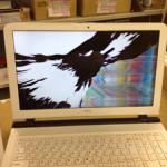 NEC PC-LE150S1Wの画面割れの液晶交換が格安!