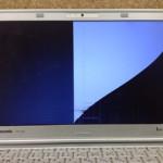 青森県青森市のパソコン画面割れを格安に直します!