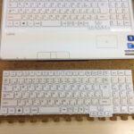 NECのキーボードが効かない、反応しない場合の修理