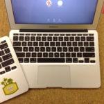 macbook air キーボード交換 入力不良、水こぼし