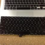 Apple Macbookpro A1278 13インチ 英語キーボード交換