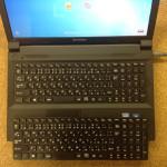 B590のキーボードが効かない、水没、水こぼしの場合