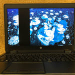 HP ZBook 15 G2 液晶交換とキーボード交換の修理