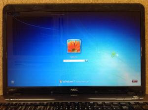 NEC PC-LS150FS6B パソコン修理後